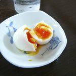 いまの家 - 塩煮タマゴを半分にして◎2013/8