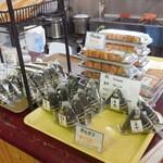 トロッコ嵯峨野駅 スナックコーナー - 稲荷もありました