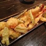 木温 - ◆天ぷら盛り合わせ