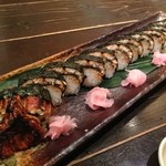 木温 - ◆名物 うなぎの棒寿司