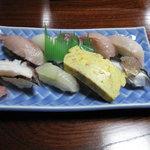 2074714 - 地魚握り これで汁付き1500円は安すぎる!