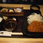 かつ蔵 - ロースカツ定食¥900