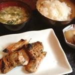 ZO - シャケハラミ定食