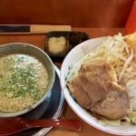 とんこつらーめん ひかり - 火曜限定 二郎系つけ麺