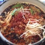 20743854 - 黒ごまタンタン麺