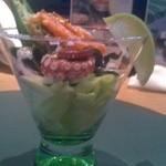 懐石カフェ 蛙吉 - 海鮮サラダ