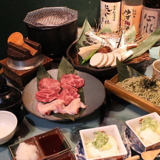 ◆おすすめ◆焼庵の特別コース!2時間飲み放題付4500円♪