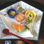 夏の昼懐石  前菜