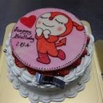 シュークリー - 料理写真:特注ケーキ(キャラクター)