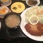 すみ桂 - 料理写真:ボリュームランチ(600円)