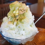 日の出園  - 料理写真:玄米茶金時ミルク(600円)