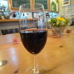 the blue marble - ワインもあります