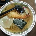 つばくら食堂 - 天ぷら中華