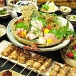 焼とんyaたゆたゆ - 選べる3種の宴会コースは飲み放題が付いて4000円