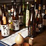 焼とんyaたゆたゆ - 100種ほどの焼酎と、その日により種類が変わる地酒も自慢のお店です!