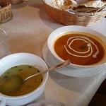 20748514 - セットのスープとカレー
