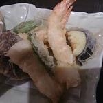 蕎麦の三心 - 天ぷら