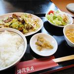 中華料理 瀋陽飯店 - 2013.08_ホイコーロー定食(850円)
