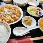 中華料理 瀋陽飯店 - 2013.08_マーボー豆腐定食(800円)