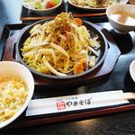中華料理 瀋陽飯店 - 2013.08_塩やきそば定食(850円)
