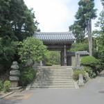 喜泉庵 - 浄妙寺の入口