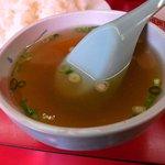 駅前飯店 - スープもアッサリ味でGood!