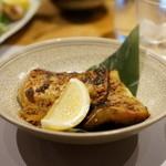 旬の味 たき下 - 甘鯛西京焼