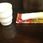 ゆるりん亭 - お水にはレモンが入ってました