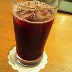 武蔵野食堂  - 赤ぶどう果汁