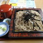 あじよし食堂 - ざるそば(大盛)