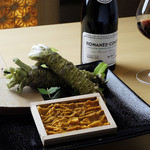 寿司上野坂 - 料理写真:ワインセラーからお好みのワインとともに