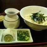 讃岐麺房 すずめ - ぶっかけ 冷¥600