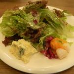トラットリア カンティーニ - セットのサラダ