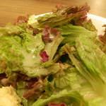 トラットリア カンティーニ - グリーンサラダ