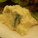 トラットリア カンティーニ - 玉子のサラダ