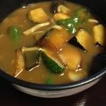 お多やん - 野菜ゴロゴロ!カレー野菜うどん