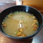 天丼の岩松 - 味噌汁 50円
