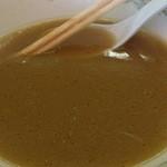 ラーメン 遊ゆう - ネギラーメンスープ