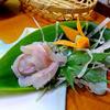 押立温泉 住吉館 - 料理写真:夕食(イワナの刺身)