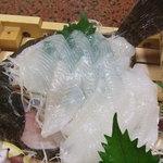 Minshukuhagiwara - 鰈の刺身