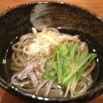 福の根dining - 古代米の温そば♪♪♪