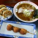 佐野やつや - 料理写真:佐野名物セット900円