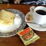 ブラジリアン三条 - ホットコーヒー(シフォンケーキ付)