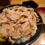 伝説のすた丼屋 - 料理写真:生姜焼き丼
