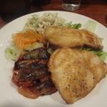 ヴァン・ド・リュー - 鶏胸肉のソテー黒酢風味