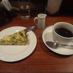 ヴァン・ド・リュー - 1000円ランチ(自家製ケーキ、コーヒー)