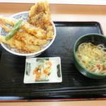 おべんとうのヒライ - 料理写真:相棒丼ミニうどんセット590円