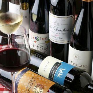 ワインを気軽にお楽しみいただけるビストロです。皆様のご来店をお待ちしております。
