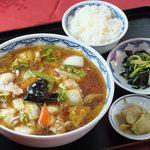 北京 - 五目麺セット 1050円
