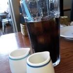 Santo Santo CAFE DINING - アイスコーヒーです
